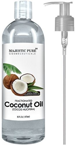 Majestic Pure Fractionated Coconut Oil - Coconut Oil Products