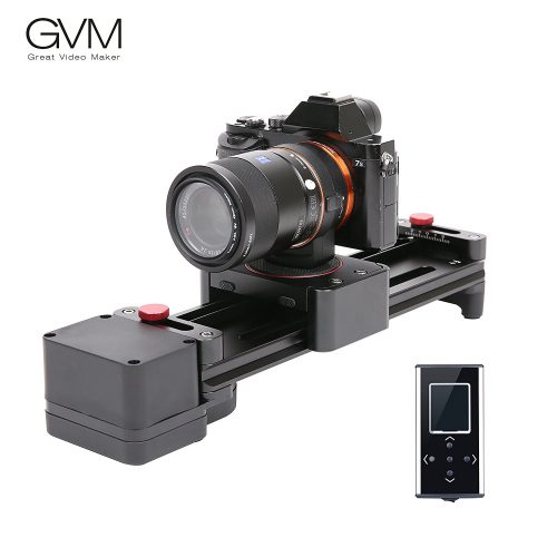 Motorized Camera Slider GVM Dolly Video Sliders 11.8 inch With Automatic Cycle Time Lapse Macro shooting Wide-angle Shooting - Camera slider