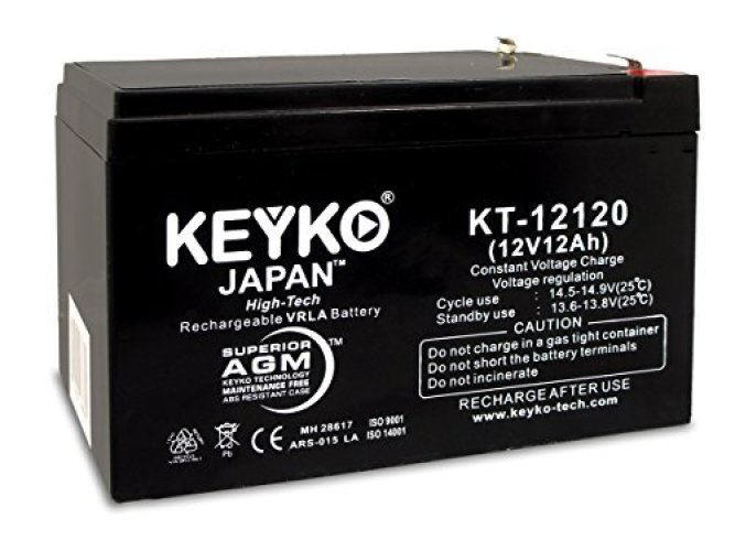 Sealed Lead Acid (AGM) Deep Cycle Battery - DCM0035 replacement battery - Car Battery