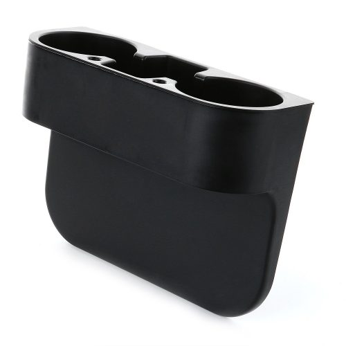 UltraGuards Car Seat Seam Wedge Cup Holder Food Drink Bottle Mount Stand Storage Organizer (Black) - Car Cup Holders