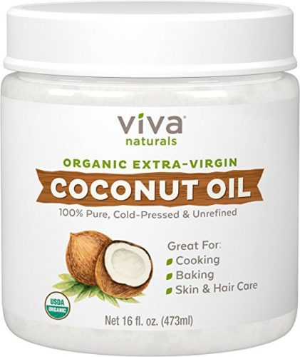 Viva Naturals Organic Extra Virgin Coconut Oil - Coconut Oil Products
