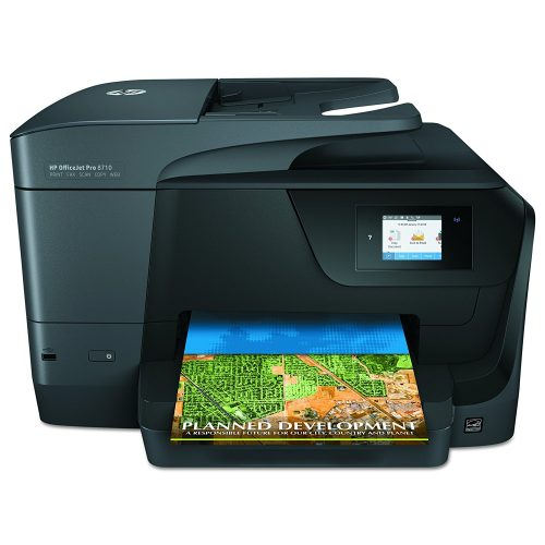 HP OfficeJet Pro 8710 All-in-One Wireless Printer with Mobile Printing, Instant Ink ready (M9L66A)- All in one photo printer