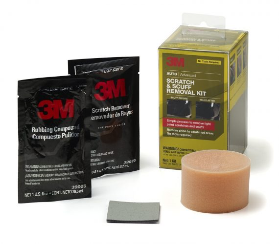 3M 39087 Scratch and Scuff Removal Kit - 1 oz.- Owing car scratch removers
