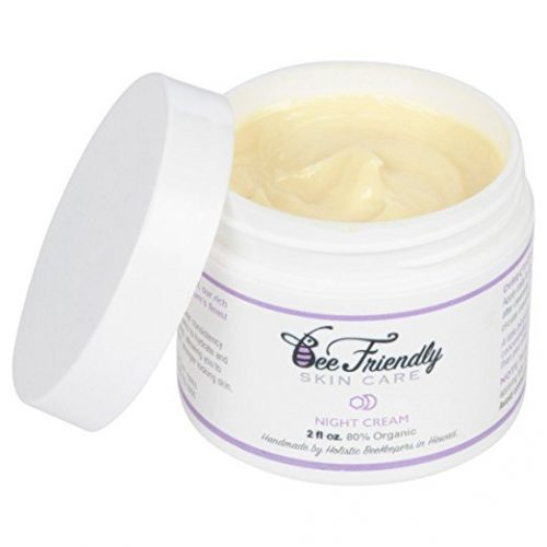 Best Night Cream 100% All Natural & 80% Organic Night Cream By BeeFriendly, Anti Wrinkle, Anti Aging, Deep Hydrating & Moisturizing Night Time Eye, Face, Neck & Decollete Cream for Men and Women - Eye Creams For Women