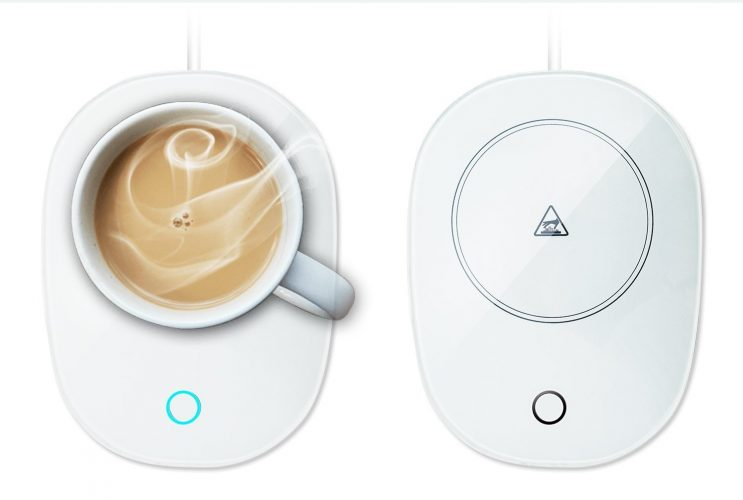 Coffee Warmer, TaoTens Automatic Thermostatic Cup Warmer for Office/Home Use (Up to 131℉/ 55℃) Safely Mug Warmer for Milk Tea Coffee