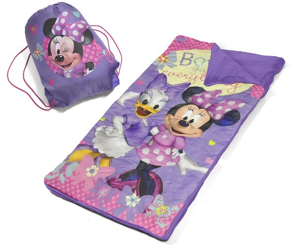 Disney Minnie Mouse Slumber Bag Set - sleeping bags for kids