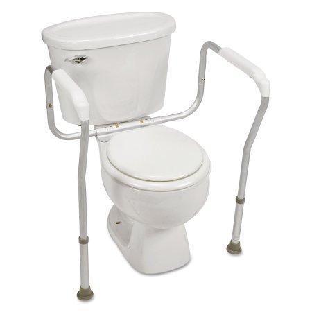 Healthstar Toilet Safety Rail, Aluminum Toilet Safety Frame for Elderly, Weak Stability & those with Limited Mobility - toilet safety frames & rails
