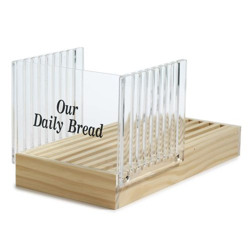 Norpro Bread Slicer With Crumb Catcher - bread slicers