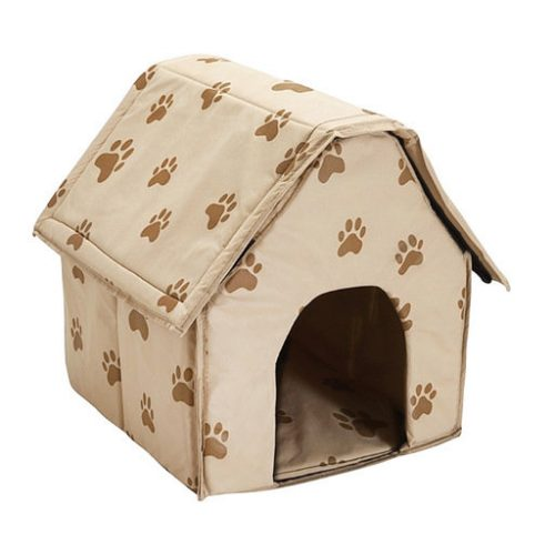 PORTABLE DOG HOUSE - Soft, warm and comfortable and goes everywhere