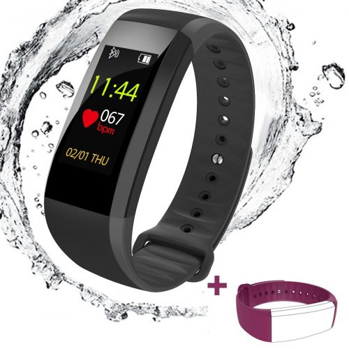 Spohot Fitness Tracker Watch - heart rate monitor watches
