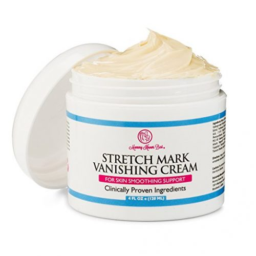 Stretch Mark Cream by Mommy Knows Best - Anti Cellulite Vanishing Cream - Remove Stretch Marks From Pregnancy - Clinically Proven Prevention Lotion Therapy - Stretch Mark Removal Creams