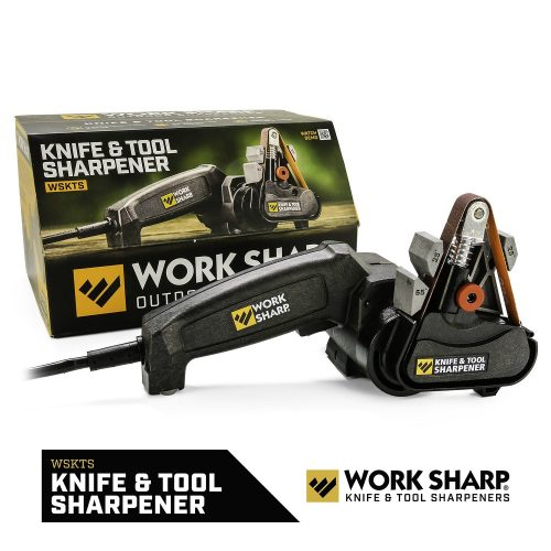 Work Sharp Knife & Tool Sharpener - Fast, Easy, Repeatable, & Consistent Results - Electric Knife Sharpeners
