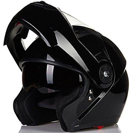 ILM 8 Colors Motorcycle Modular Flip-up Dual Visor Helmet DOT