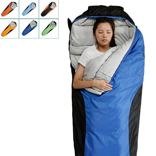"""""""FARLAND Camping Sleeping Bag-EnvelopeMummy Outdoor Lightweight Portable Waterproof Perfect for 20 degree Travelling, Hiking Activities"""" - Sleeping Bags"""