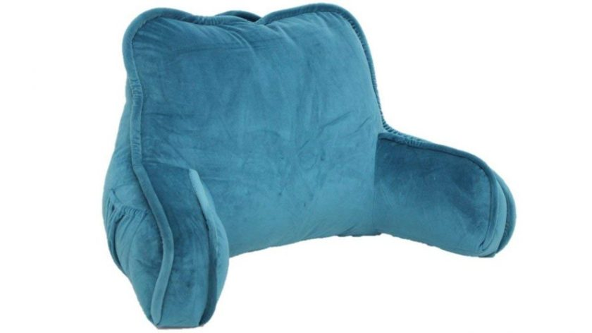 Brentwood Originals 2136 Plush Bed Rest, Teal - reading pillows