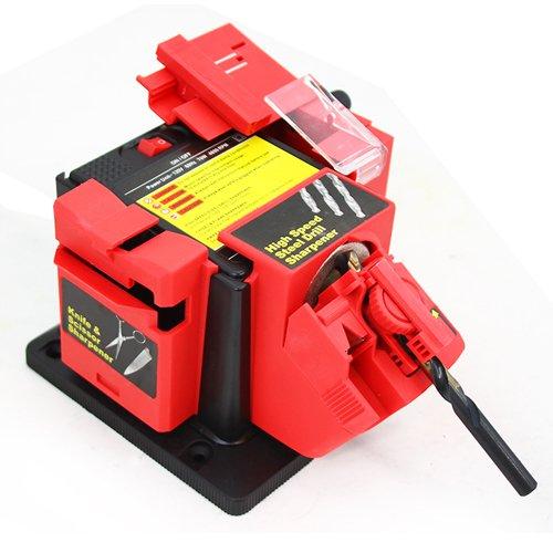 Multipurpose Power Drill Bit Sharpener- XtremepowerUS