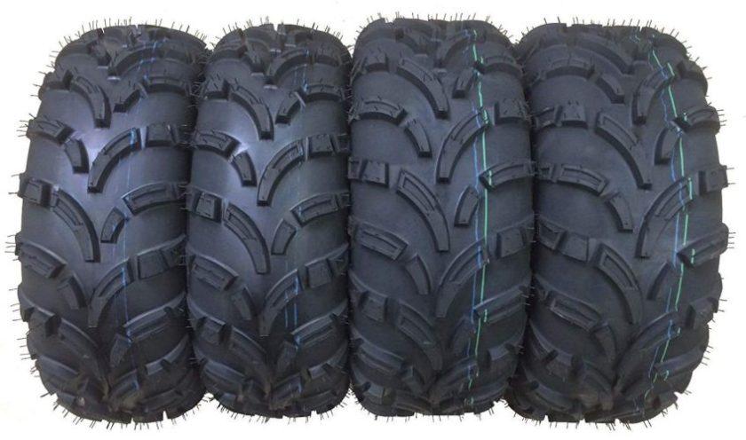 Set of 4 New WANDA ATV/UTV Tires 25x8-12 Front & 25x10-12 Rear /6PR P373 - 10243/10244