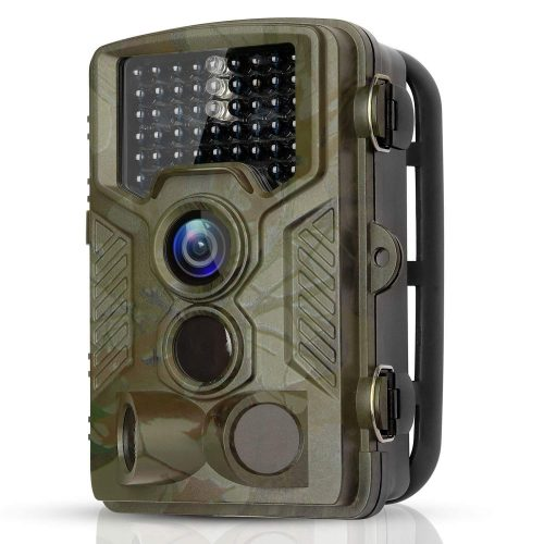 """BYbrutek Trail Camera, 16MP 1080P Full HD Deer Hunting Game Camera, 0.2S Motion Activated Wildlife Camera with 46 PCS 850nm IR LEDs Night Vision up to 65ft, 2.4"""" LCD Display, IP56 Waterproof (H881)"""