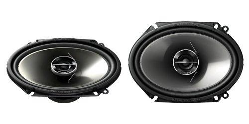 Pioneer 250 Watts 6 x 8 4 ohms 2-Way G-Series Coaxial Full Range Car Audio Stereo Speakers