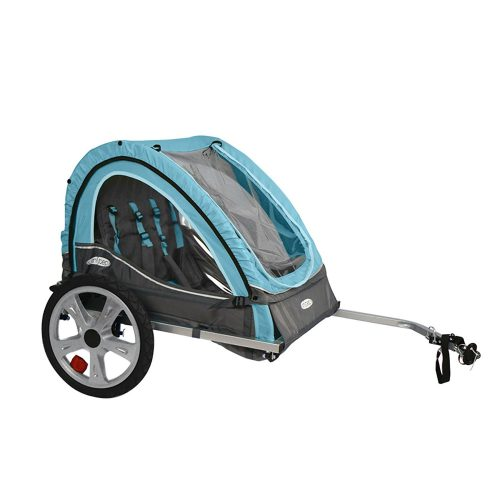 InStep Take 2 Kids/Child Bicycle Tow Behind Trailer - bike trailers