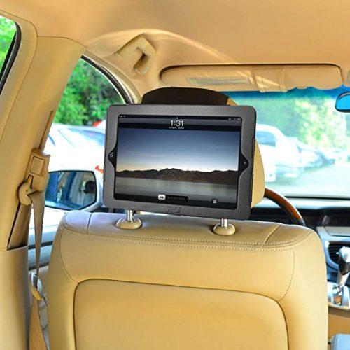 TFY iPad 4 / iPad 3 / iPad 2 Car Headrest Mount Holder - Ipad Car Mounts