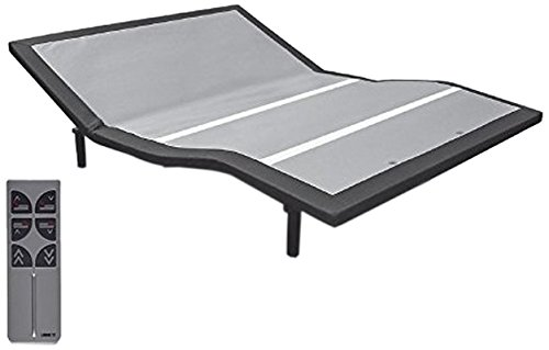Leggett & Platt Raven Adjustable Bed Base, Wireless, Head and Foot Articulation, Queen