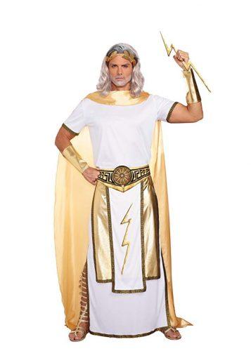 Zeus Greek God Costume