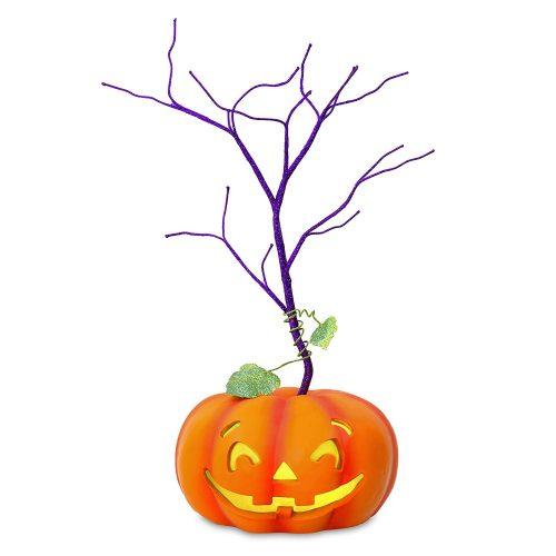 "Hallmark Keepsake Halloween Decor Mini Tree With Light 2018 Year Dated, for Miniature Ornaments, 11.5"""