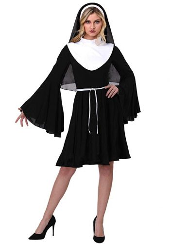 Womens Sassy Nun Costume