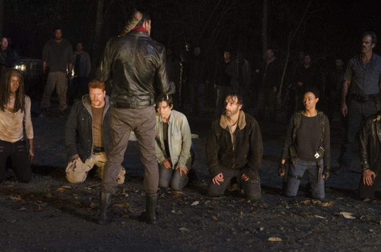 Rick and Co. in The Walking Dead Costume