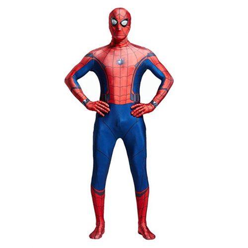 Unisex Lycra Spandex Zentai Halloween Cosplay Costumes - Spiderman Costume for Kids