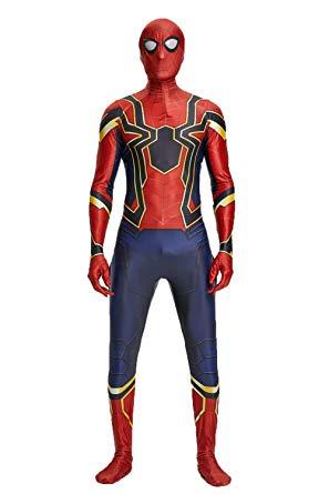Seven Plus Unisex Lycra Spandex Zentai Halloween Cosplay Costumes - Spiderman Costume for Kids
