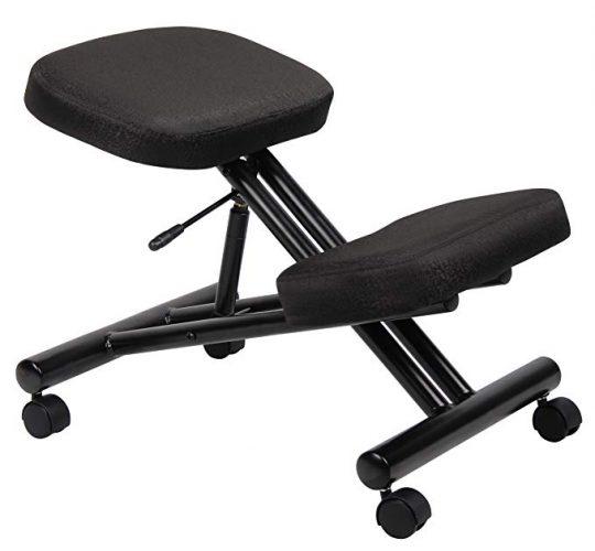 Boss Office Products B248 Ergonomic Kneeling Stool - Ergonomic Kneeling Chairs