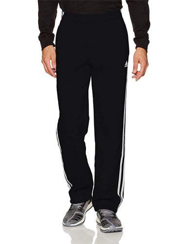adidas Men's Essentials 3 Stripe Regular Fit Fleece Pants - Sweatpants for Men