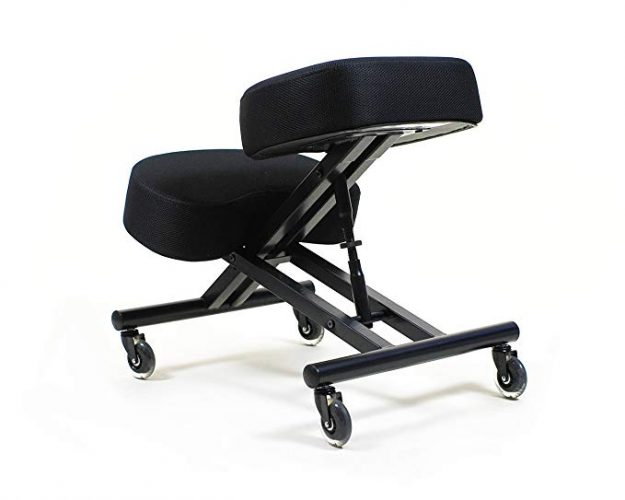 Sleekform Kneeling Chair with Adjustable Seat Angle - Ergonomic Kneeling Chairs