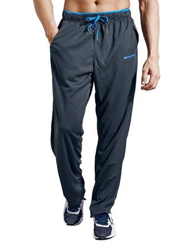 Zengvee Men's Sweatpant with Zipper Pockets - Sweatpants for Men