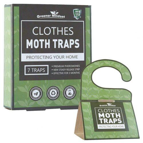 Greener Mindset Clothes Moth Traps 7-pack