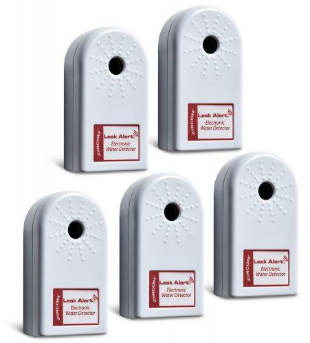 Zircona Leak Alert Home Pack the Electronic Water Detector - water leak detectors