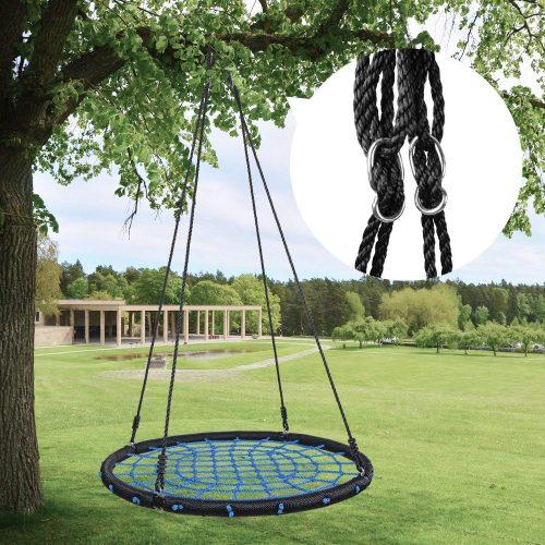 HYCLAT Saucer Tree Swing Flying Web Tree Swing Outdoor - Tree Swings