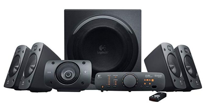Logitech Z906 5.1 Surround Sound Speaker System - 5.1 Channel Speakers