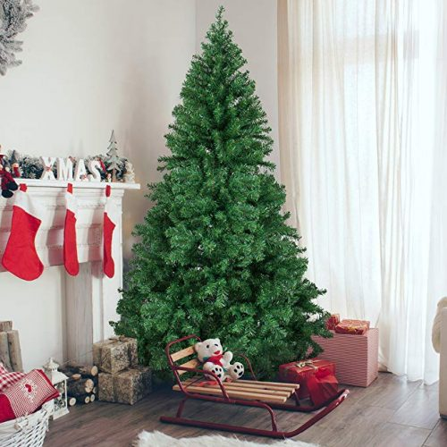 Best Choice Products 6' Premium Hinged Artificial Christmas Pine Tree - Artificial Christmas Trees