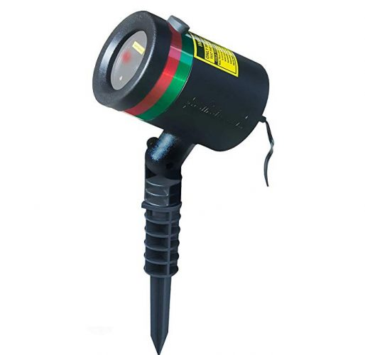 Star Shower As Seen on TV Static Laser Lights Star Projector - Outdoor Laser Light for Christmas