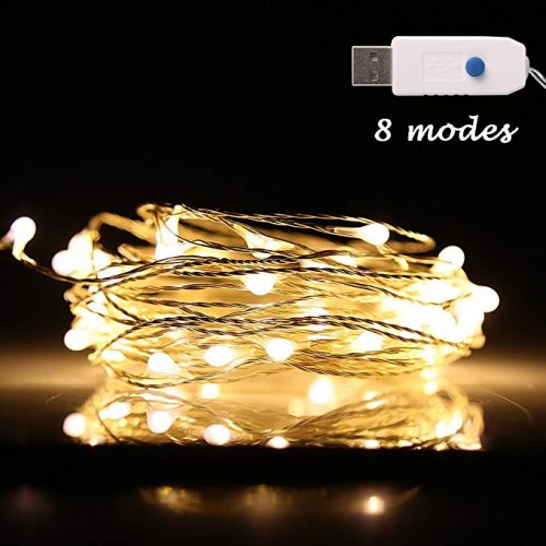 Ehome 100 LED 33ft/10m Starry Fairy String Light - Christmas LED Wire Lights