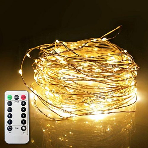 ETHINK 200 LED 65.6ft Fairy String Copper Wire Lights for Christmas - LED String Lights for Christmas
