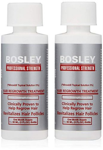 BOSLEY by HAIR REGROWTH TREATMENT, EXTRA STRENGTH FOR MEN - Hair Re-growth Product for Men