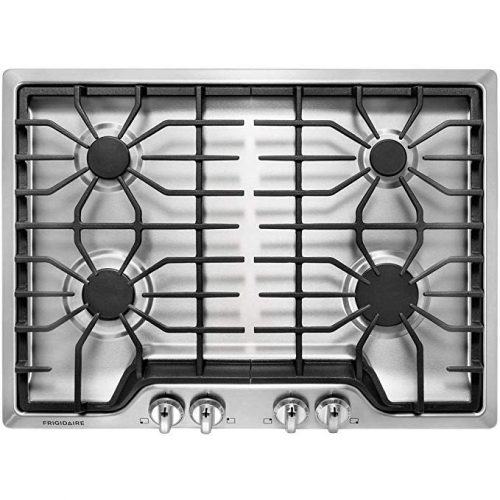 "Frigidaire FFGC3026SS 30"" Gas Sealed Burner Style Cooktop - Gas Cooktops"