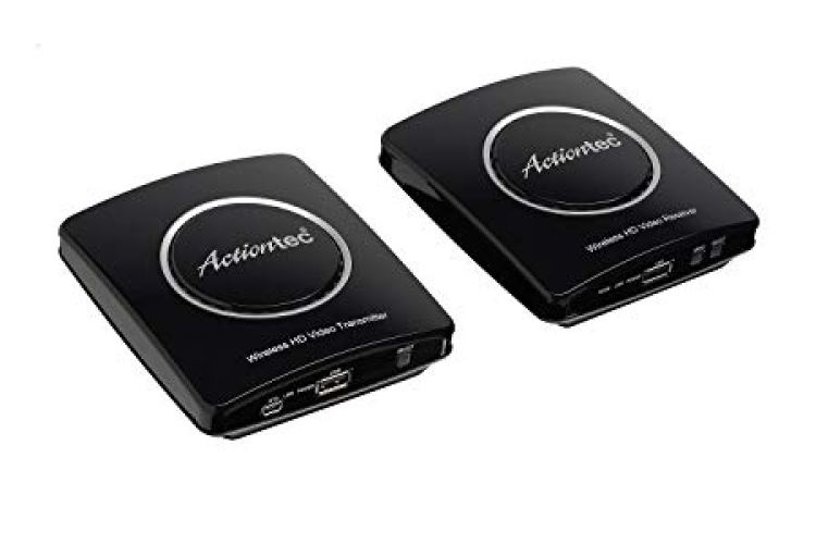 Actiontec Wireless HDMI Transmitter & Receiver Extender Kit - Wireless HDMI Transmitter & Receiver