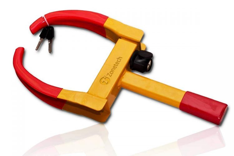 Wheel Lock Security Tire Clamp