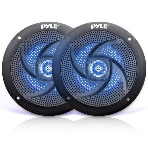 Pyle Marine Speakers PLMRS53BL (Black) - marine speakers