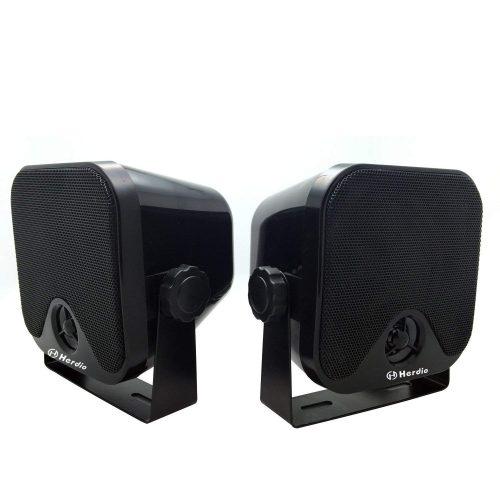 """4"""" Heavy Duty Waterproof Boat Marine Box Outdoor Speakers - marine speakers"""